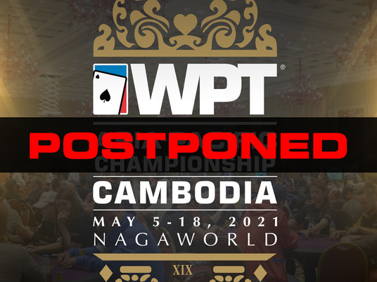 WPT Asia-Pacific Championship Cambodia May 2021 Postponed
