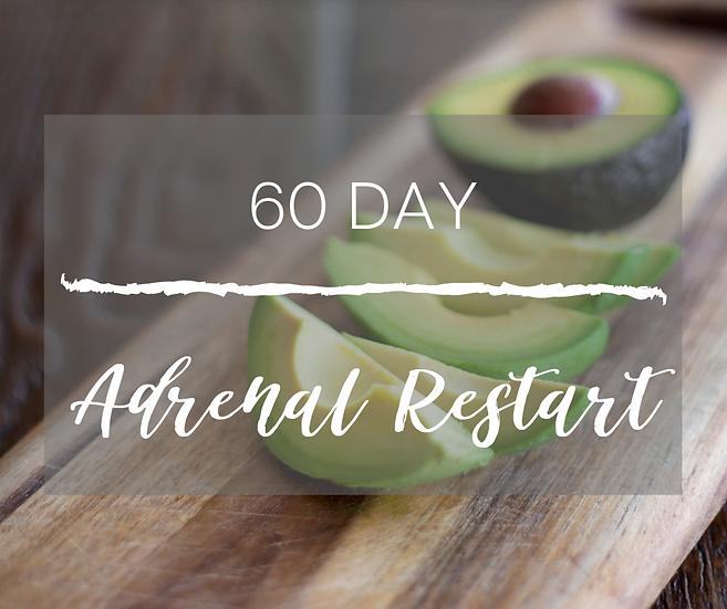 60-DAY ADRENAL RESTART PROGRAM
