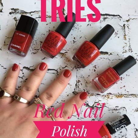 Ben Tries: Red Nail Polish...