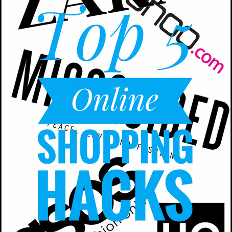 Online Shopping Hacks...