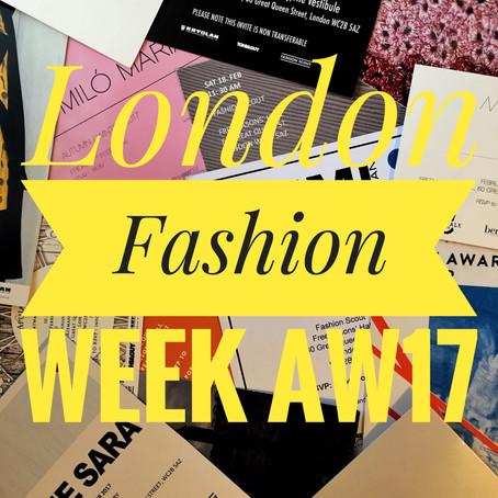 London Fashion Week...