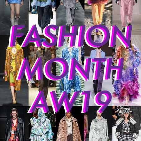 Fashion Month AW19