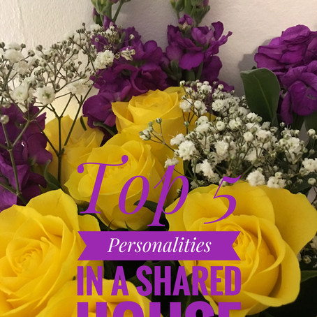 Personalities you will meet in a shared house...