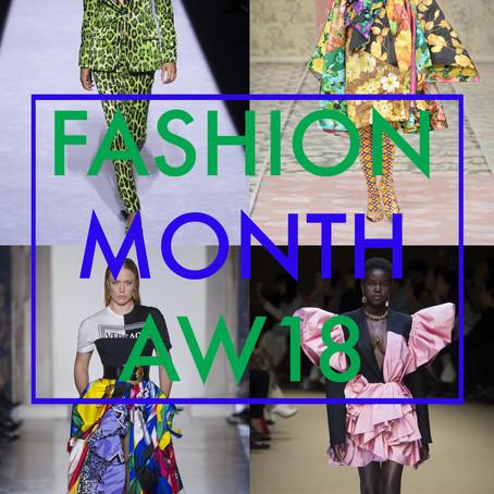 Fashion Month AW18