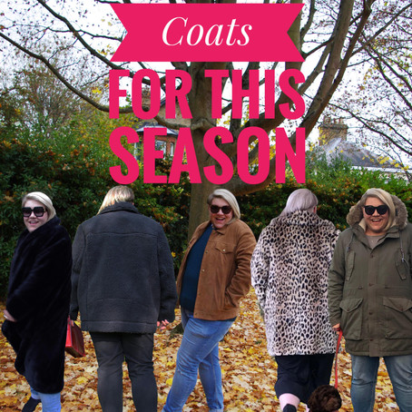 Coats for this season…