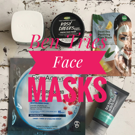 Ben Tries: Face Masks