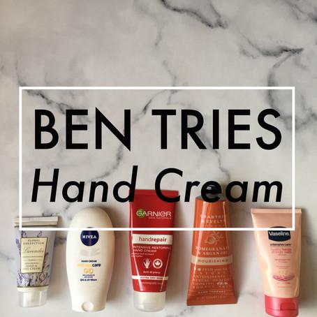 Ben Tries: Hand Cream