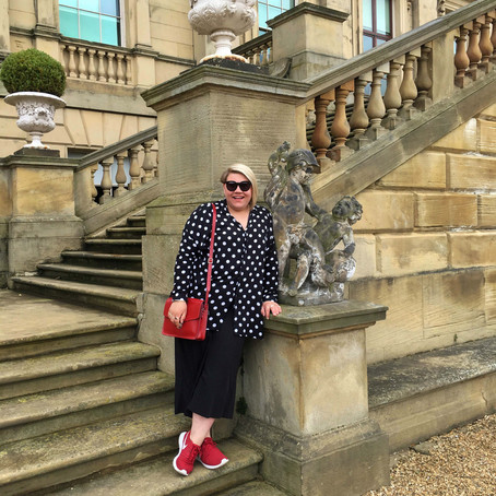 Polka Dots and Stately Homes...