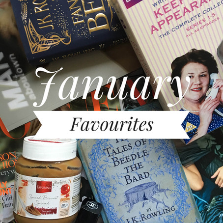 January Favourites...