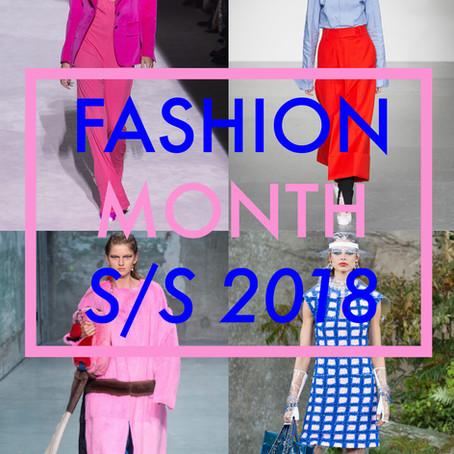 Fashion Month: SS18