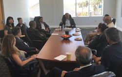 meeting with Senator Tim Kaine 1