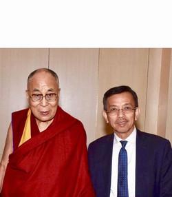 David and Dalai Lama