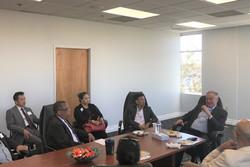 meeting with Senator Tim Kaine 2