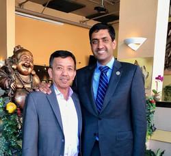David and US Congressman Ro Khanna