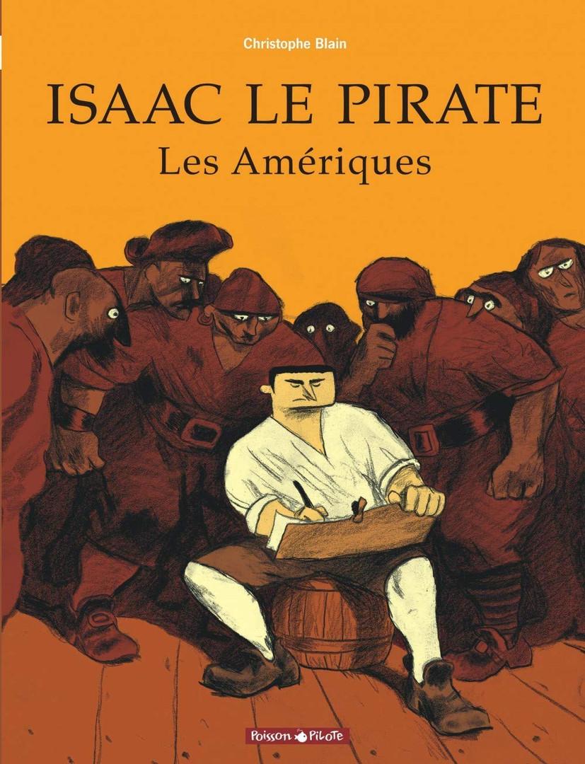 Isaac le pirate de Christophe Blain