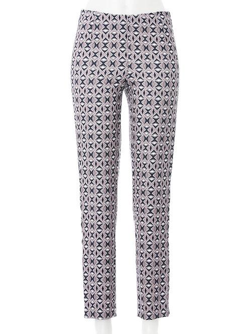 Jeggings Jacky Tape Fashion Print beige / schwarz