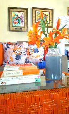 Citrusy Livingroom design