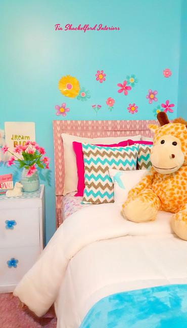 Little Girl's Bedroom Design