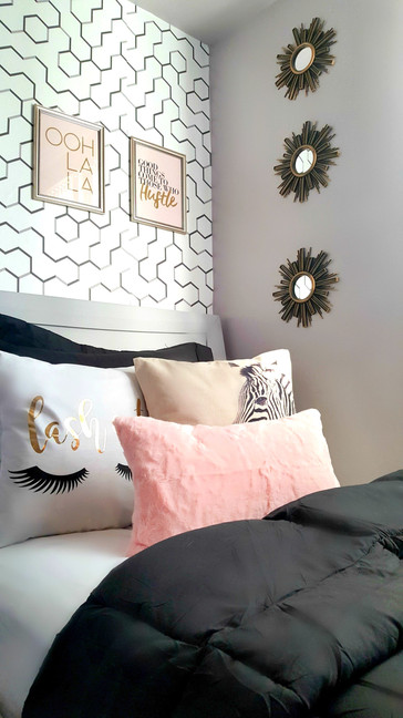 Glam teen bedroom decor/accessories