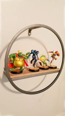 Boys Video Game Bedroom - Shelf Decor