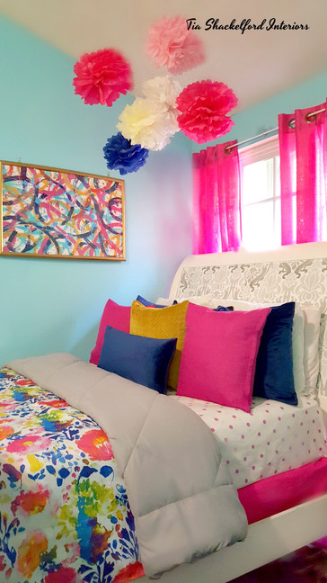 Girl's Colorful Bedroom