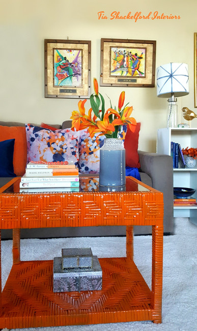 Citrusy Modern Livingroom Design