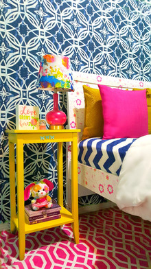 Eclectic Kids/Girls Bedroom