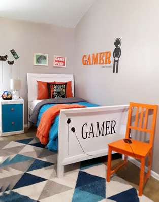 Boys Video Game Bedroom