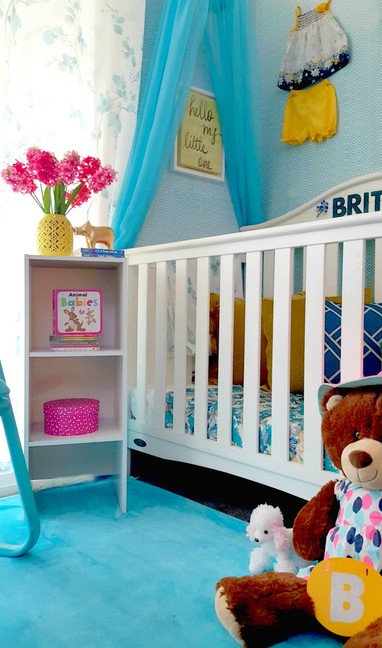 Baby Girls Nursery Design