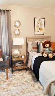 Girls Modern Farmhouse Bedroom Design