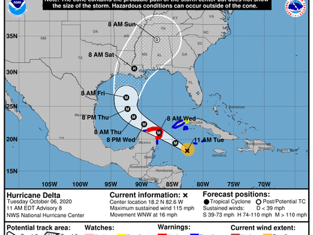 Ivey declares second state of emergency; Hurricane Delta approaching Gulf Coast