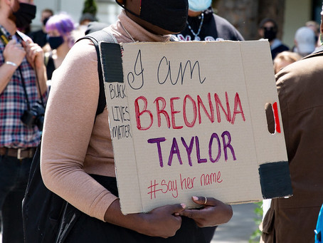 No charges in the shooting death of Breonna Taylor