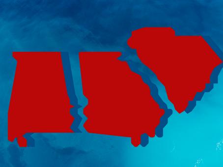 Eyes on the South: Alabama, Georgia, South Carolina among most watched Senate races
