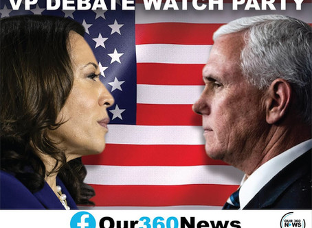 Our 360 News to stream debate Wednesday on Facebook; updates