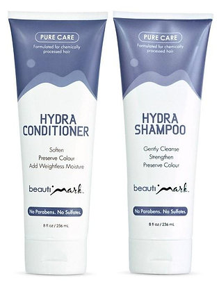 BeautiMark - Daily Duo - Pure Care Shampoo & Conditioner for Human Hair