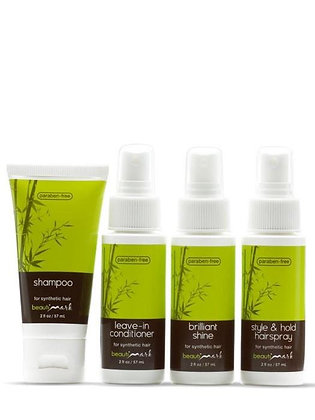 BeautiMark - 4 Piece Try Me Travel Kit for Synthetic Hair