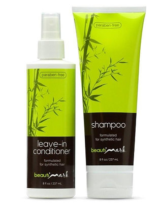 BeautiMark - Cleansing Duo - Shampoo & Conditioner for Synthetic Hair
