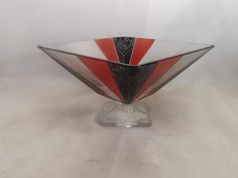 Palda Art Deco Fruit Bowl