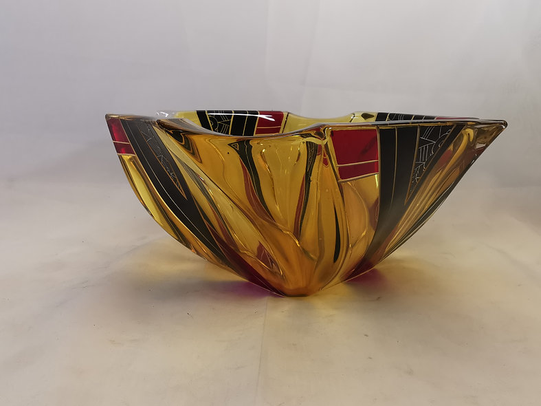 Palda Art Deco Fruit Bowl