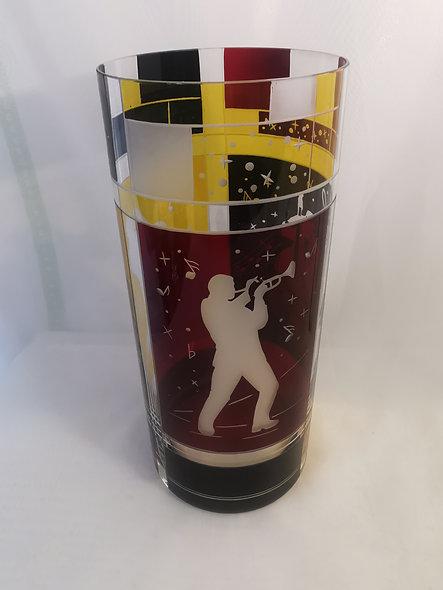 Art Deco Jazz Motif Vase
