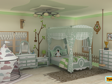 kids bedroom green.png