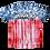 Thumbnail: American Drip Tie Dye Flag Tee
