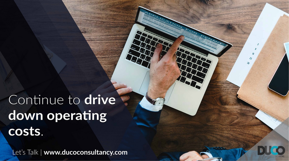 Drive down operating costs with Duco