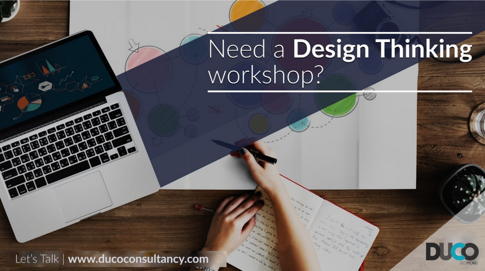 Contact us for a Design thinking session for you!