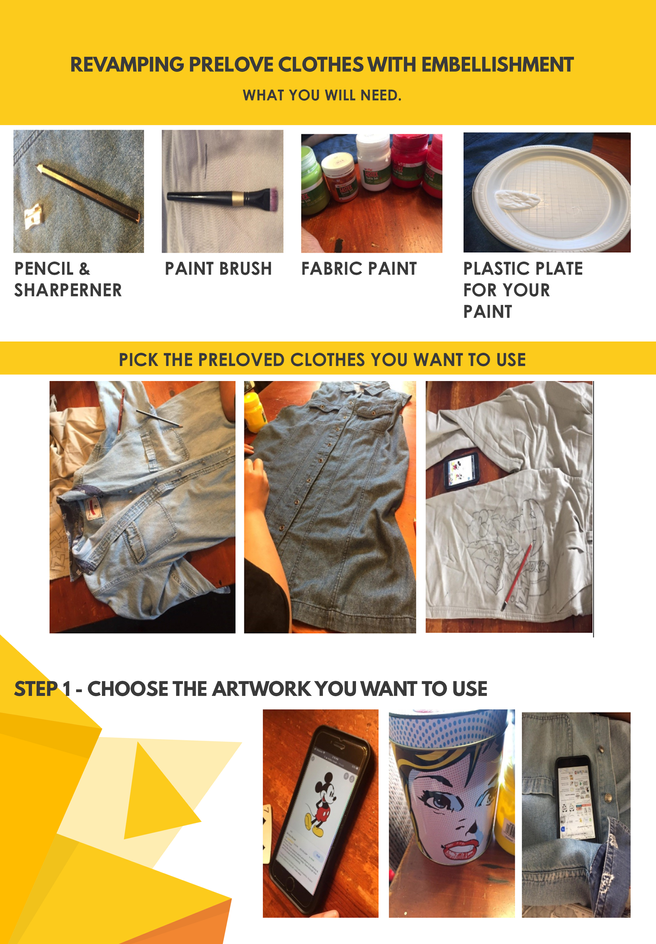 Revamp your preloved clothes