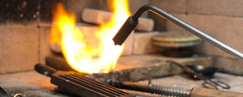 Melting torch