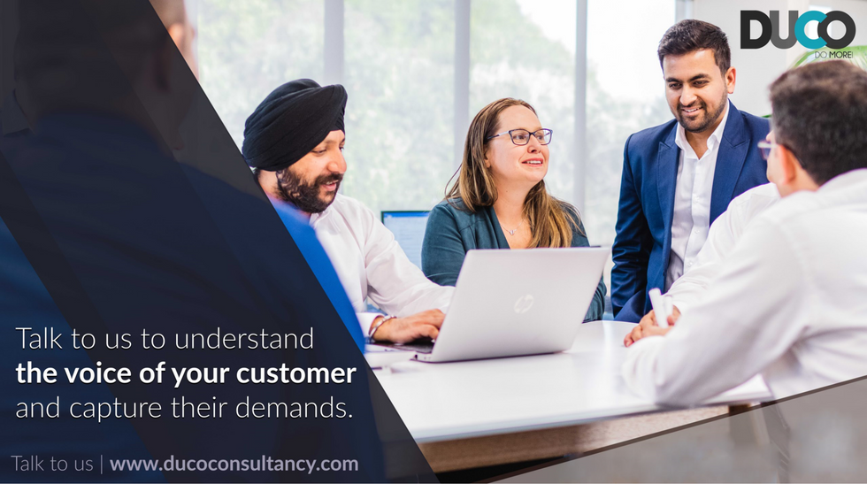 We understand the voice of the customer - we hear you and understadn you