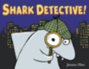 Shark Detective by Jessica Olien