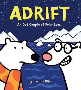 ADRIFT: AN ODD COUPLE OF POLAR BEARS