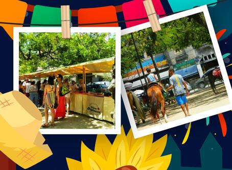 Saudades de Festa Junina da minha Praça - #1 Arraiá Praça do Cavalinho